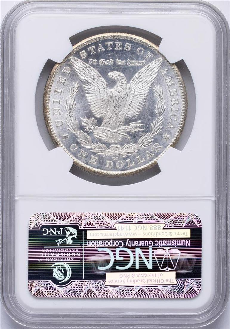 1881-CC $1 Morgan Silver Dollar Coin NGC MS64 - 2