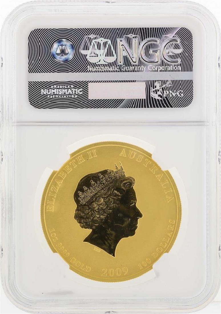 2009-P Australia $100 Year of the Ox Gold Coin NGC MS69 - 2