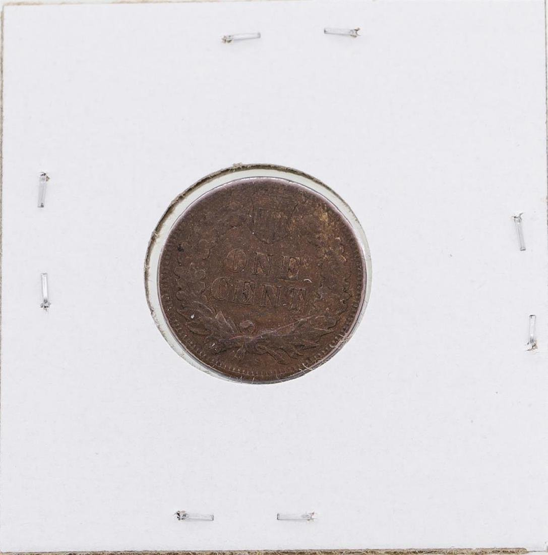 1909-S Indian Head Cent Coin - 2