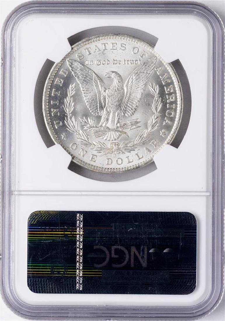 1885-O $1 Morgan Silver Dollar Coin NGC MS64 - 2