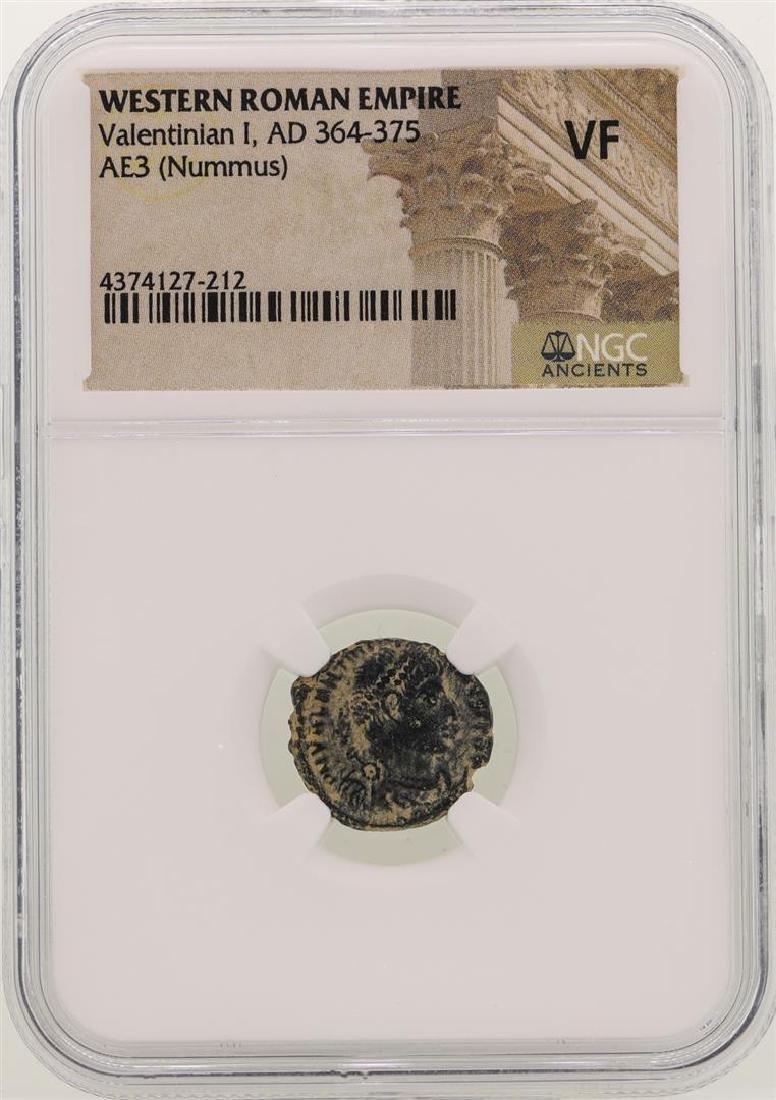 Valentinian I 364-375 AD Ancient Western Roman Empire