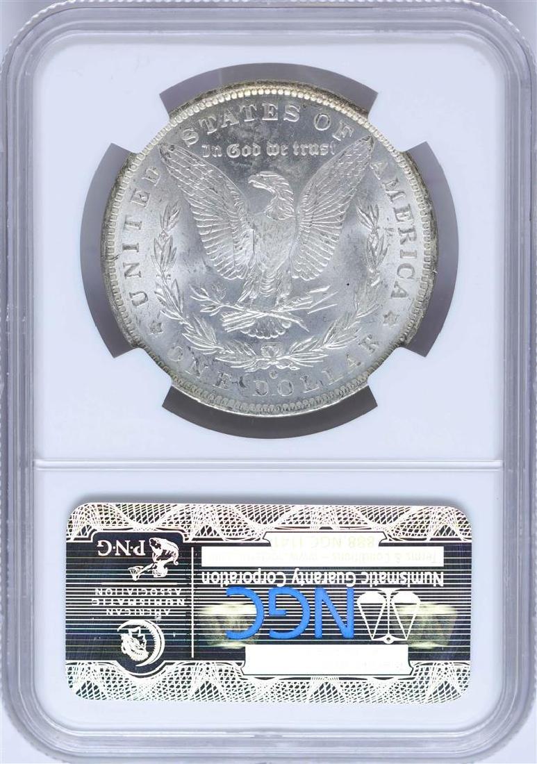 1884-O $1 Morgan Silver Dollar Coin NGC MS64 Nice - 2
