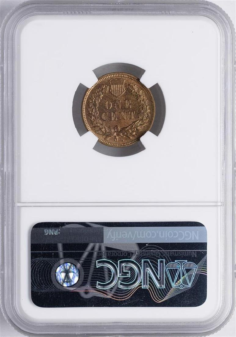 1908-S Indian Head Cent Coin NGC MS64RB - 2