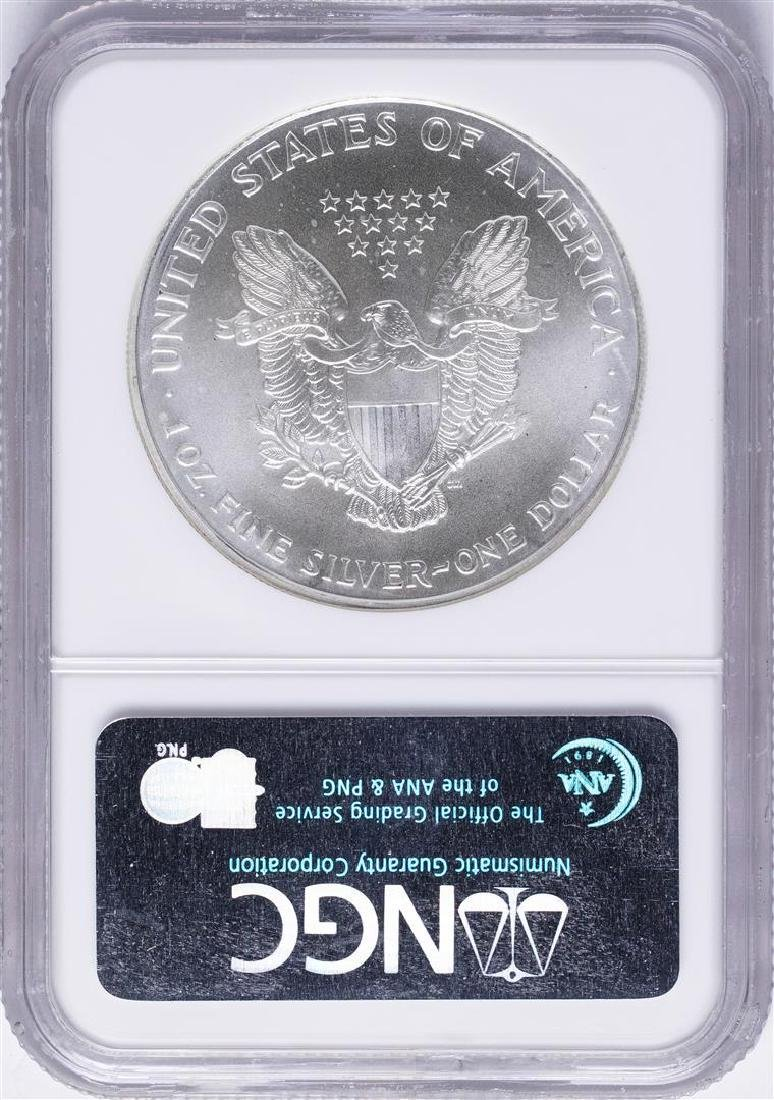 1994 $1 American Silver Eagle Coin NGC MS69 First - 2