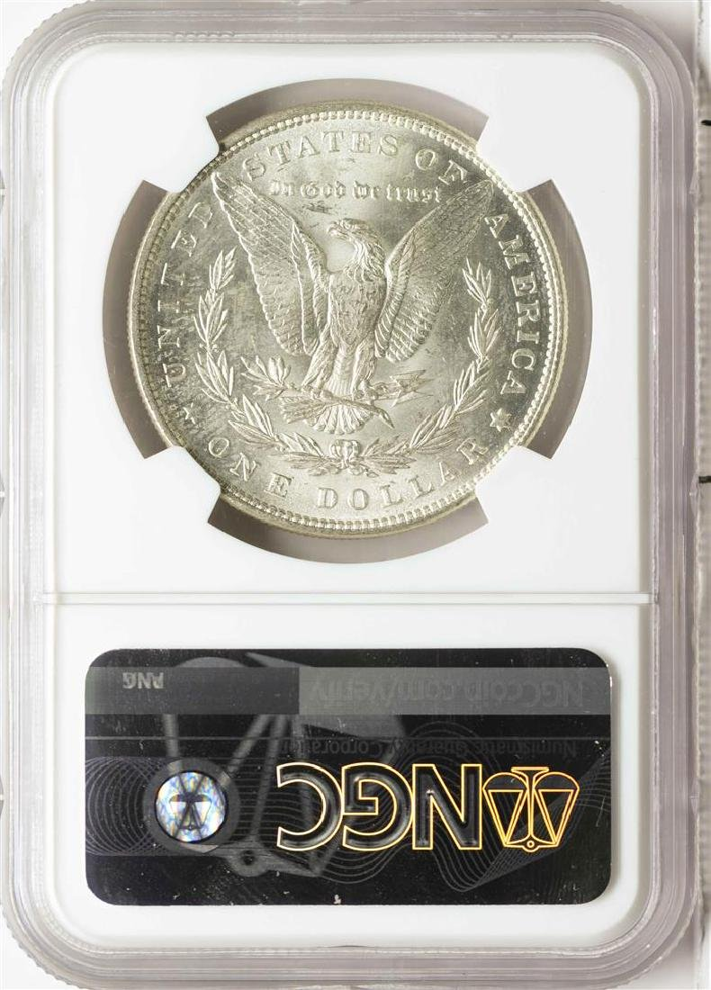 1884 $1 Morgan Silver Dollar Coin NGC MS64 - 2
