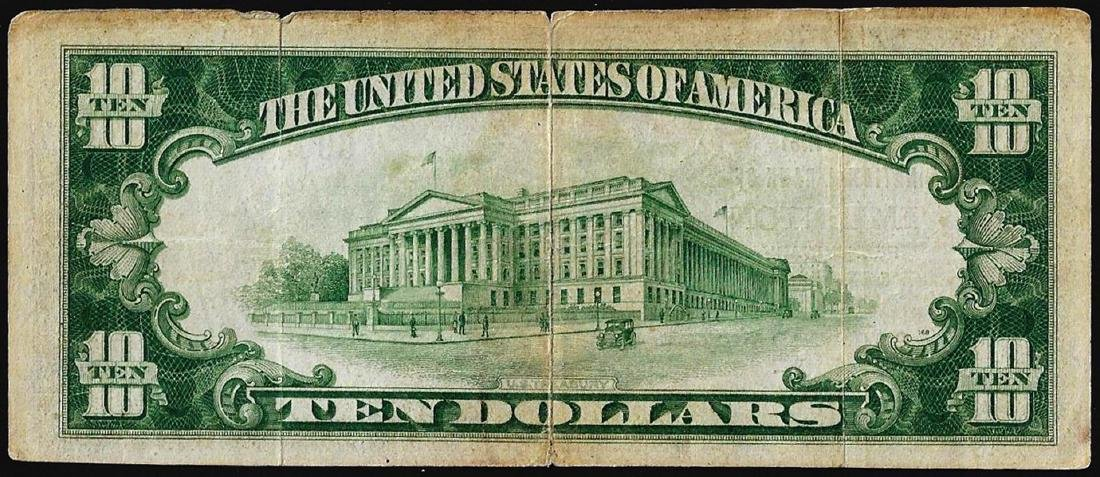 1929 $10 First NB of Emilenton, PA CH# 4615 National - 2