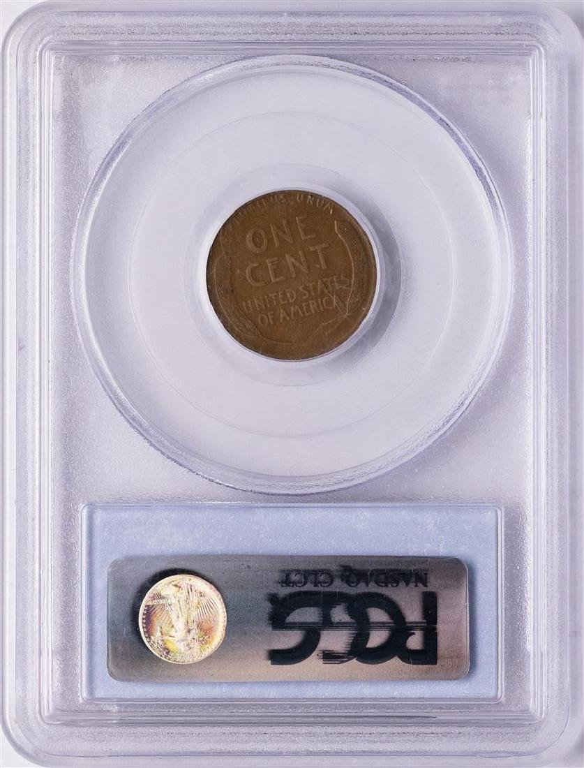 1914-D Lincoln Wheat Cent Coin PCGS VF20 - 2