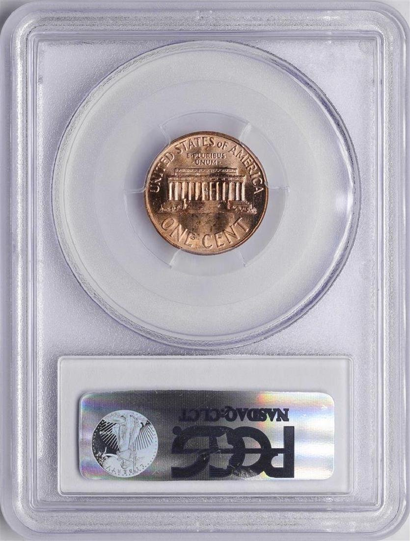 1966 Lincoln Wheat Cent Coin PCGS MS66RD - 2