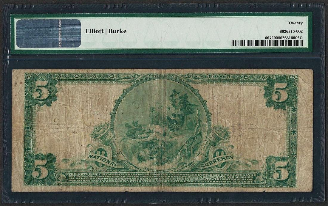 1902 PB $5 First NB of Hawaii at Honolulu CH# 5550 - 2