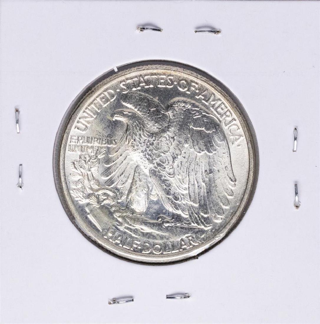 1942 Walking Liberty Half Dollar Coin - 2