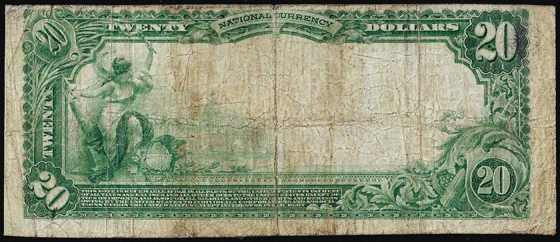 1902 PB $20 First NB of Englewood, CO CH# 9907 National - 2