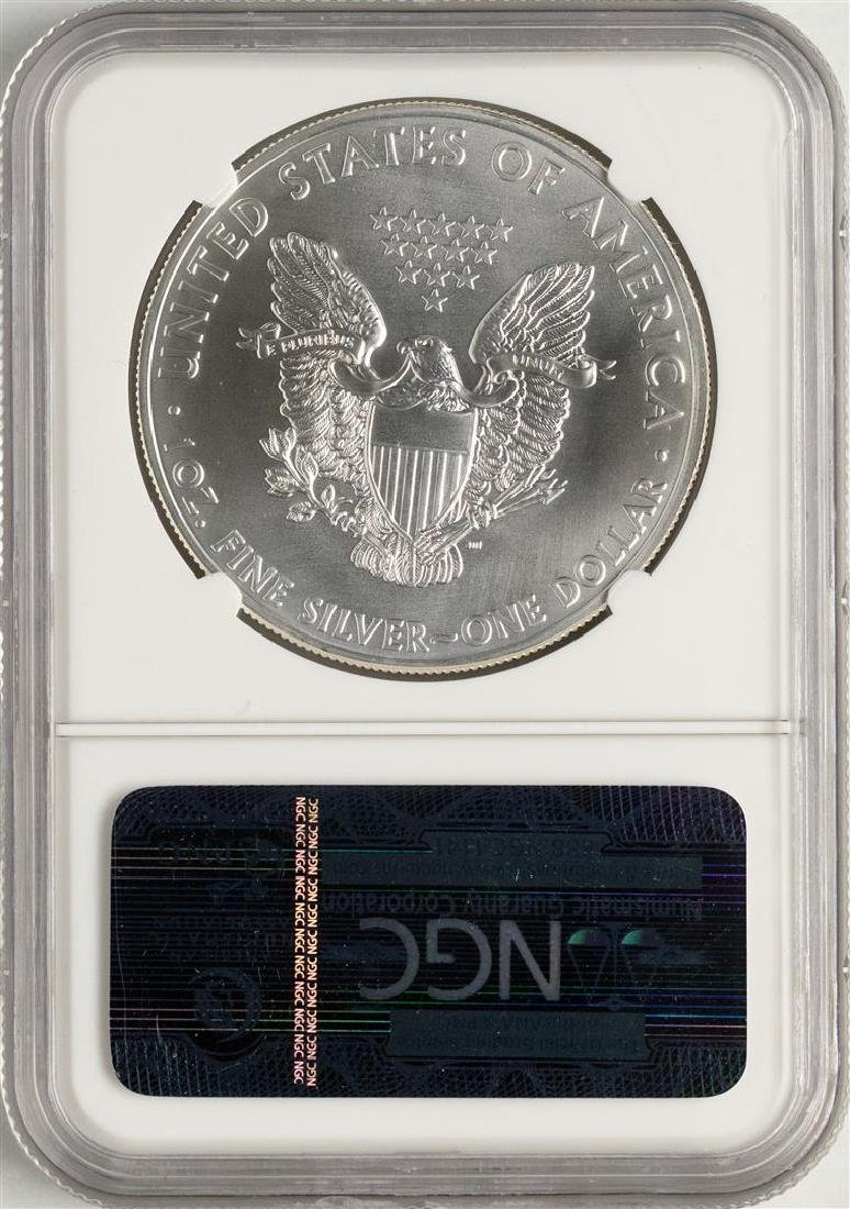 2011-(S) $1 American Silver Eagle Coin NGC MS69 Early - 2