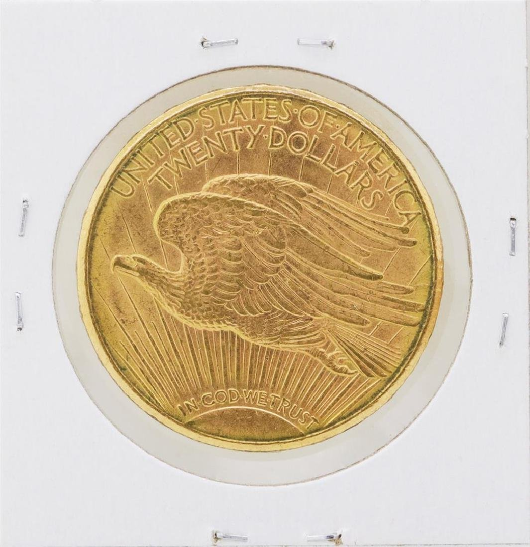 1910-S $20 St. Gaudens Double Eagle Gold Coin - 2