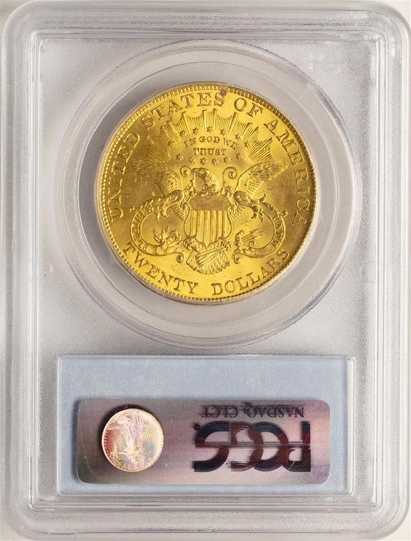 1904 $20 Liberty Head Double Eagle Gold Coin PCGS MS64+ - 2