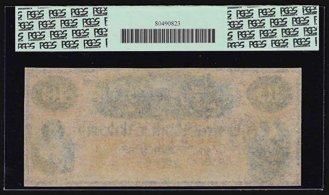 1800's $10 Eastern Bank of Alabama Eufaula, AL Obsolete - 2