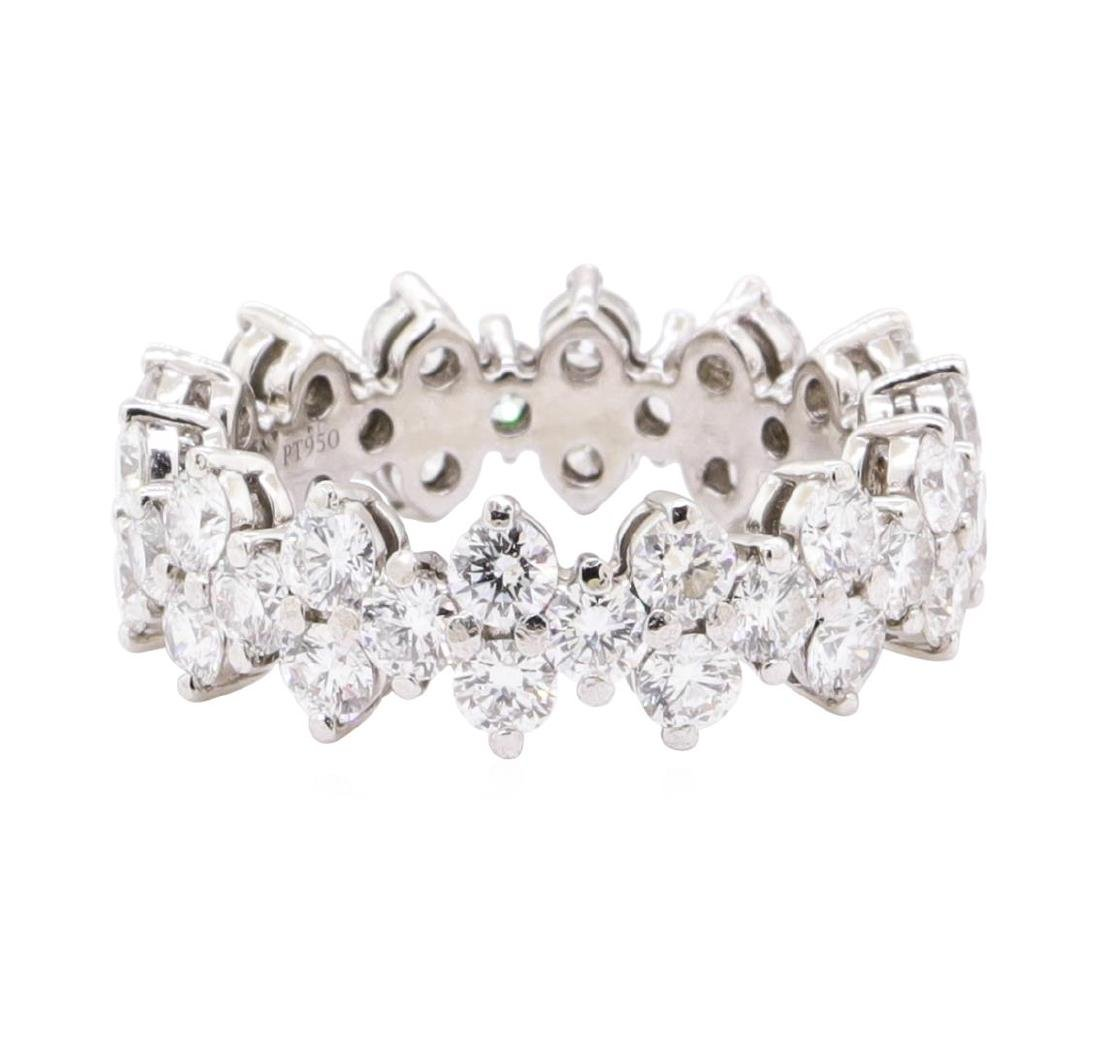 Tiffany & Co Platinum 2.59ct Diamond Aria Eternity Ring