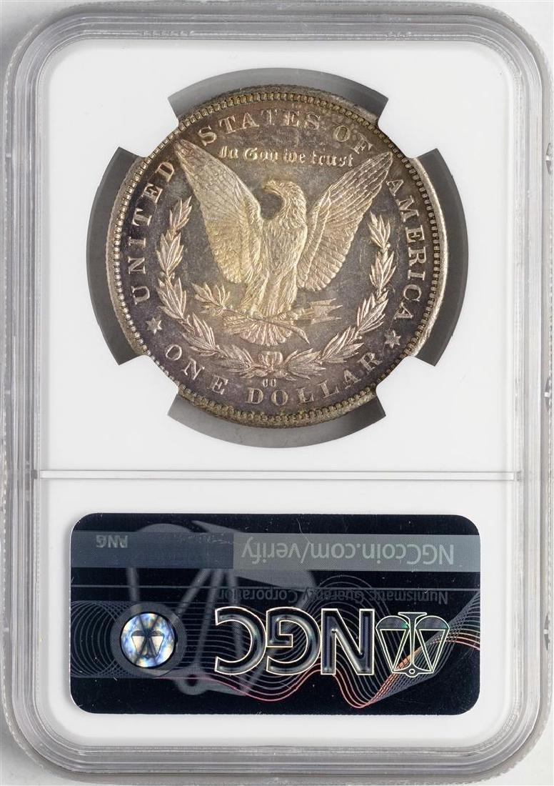 1892-CC $1 Morgan Silver Dollar Coin NGC MS64+ CAC - 2