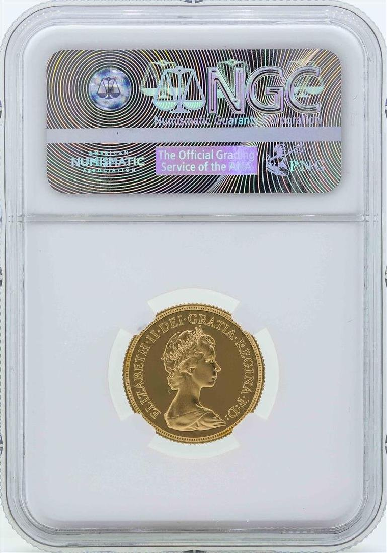 1981 Great Britain Sovereign Gold Coin NGC PF70 Ultra - 2