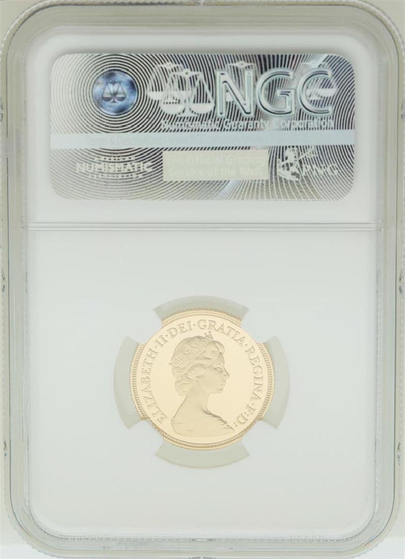 1980 Great Britain Sovereign Gold Coin NGC PF68 Ultra - 2