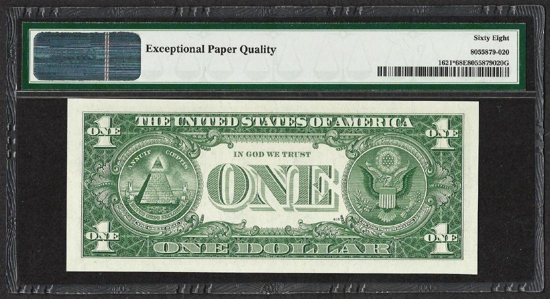 1957B $1 Silver Certificate STAR Note Fr.1621* PMG - 2