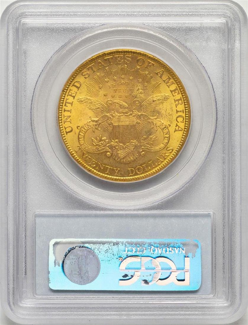 1894 $20 Liberty Head Double Eagle Gold Coin PCGS MS62 - 2
