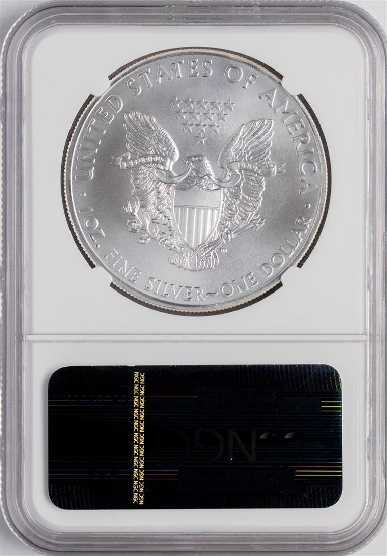 2011 $1 American Silver Eagle Coin NGC MS70 Early - 2