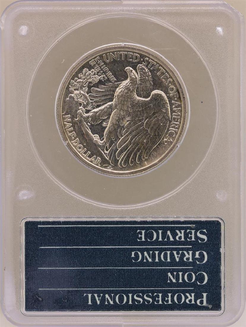 1939 Proof Walking Liberty Half Dollar Coin PCGS PR65 - 2