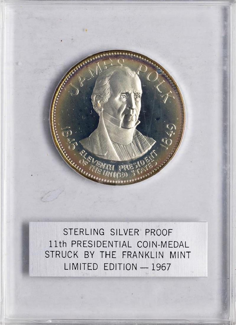 1967 Limited Edition Sterling Silver Proof Presidential