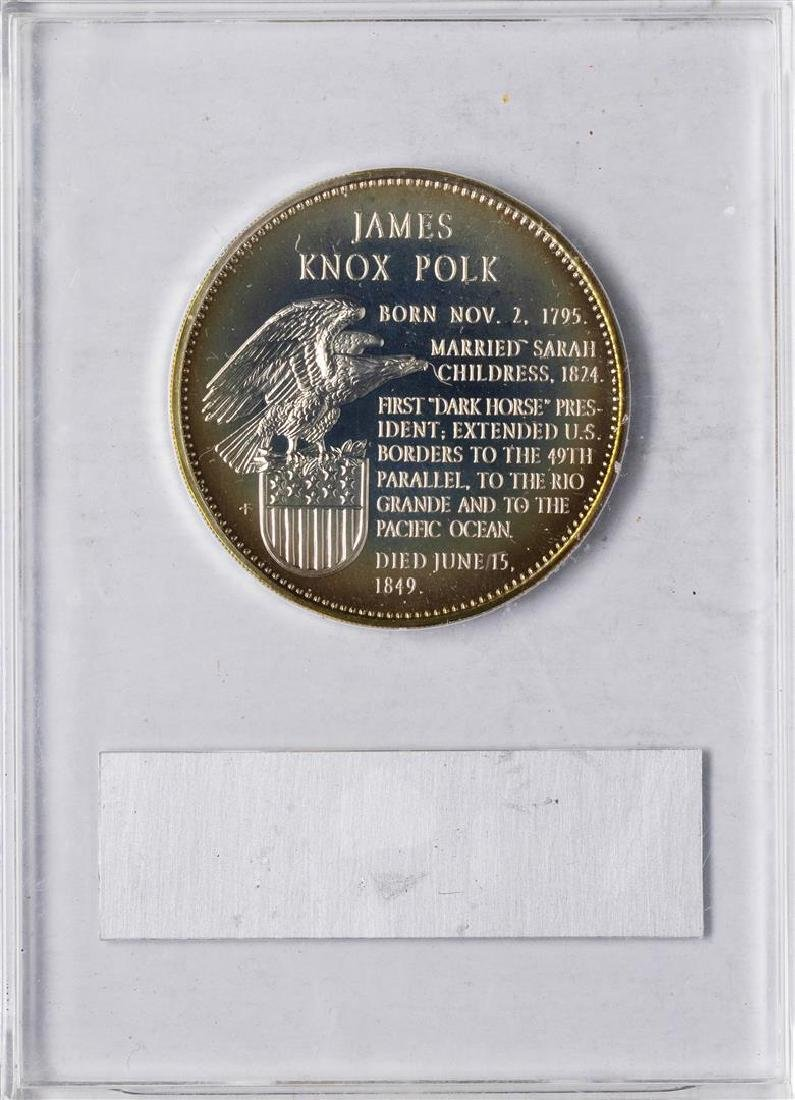 1967 Limited Edition Sterling Silver Proof Presidential - 2