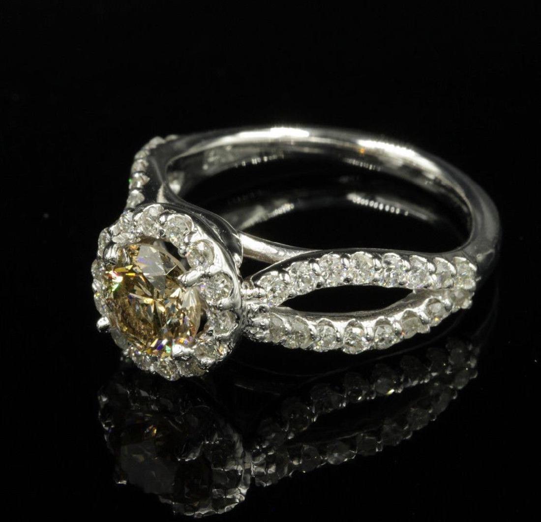 14KT White Gold 2.03ctw Natural Round Cut Diamond