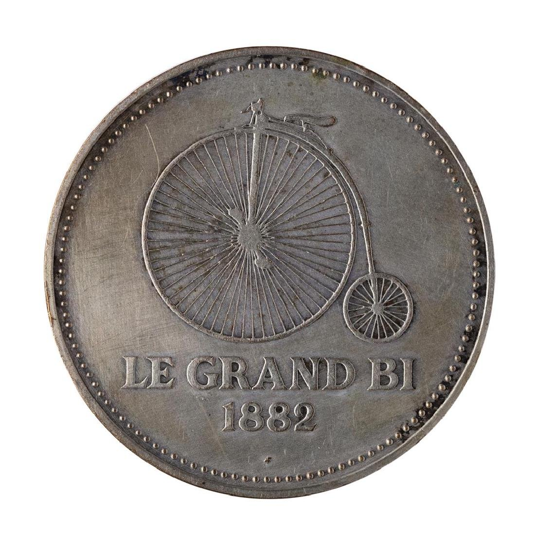 1982 France Peugeot Le Grand Bi Medal