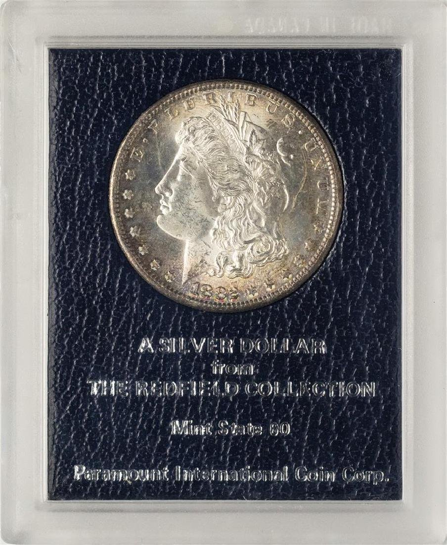 1882-S $1 Morgan Silver Dollar Coin Redfield Collection