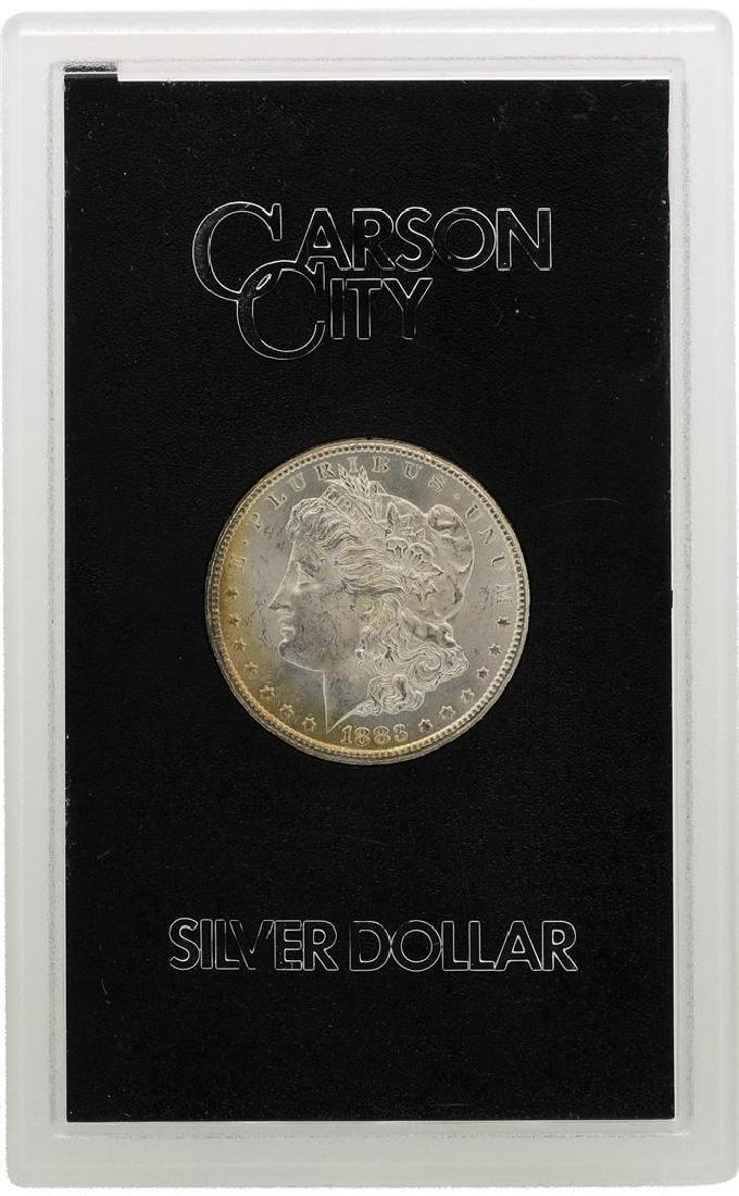1883-CC $1 Morgan Silver Dollar Coin GSA Amazing