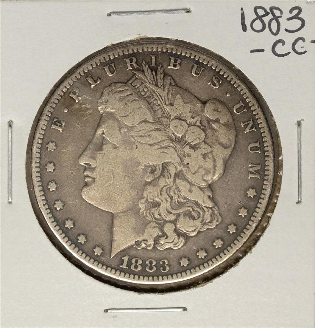 1883-CC $1 Morgan Silver Dollar Coin