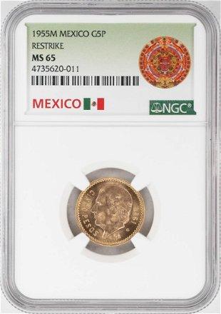 1947 Mexican 50 Pesos gold coin - Jul 19, 2019 | Duane