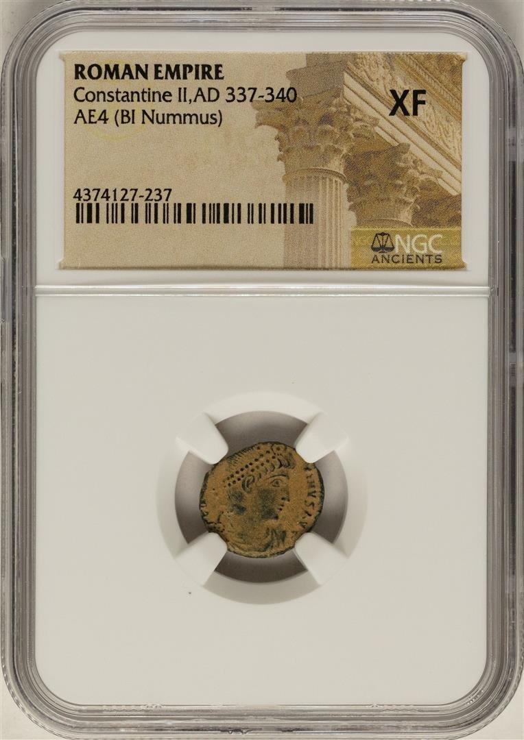 Constantine II, 337-340 AD Ancient Roman Empire Coin