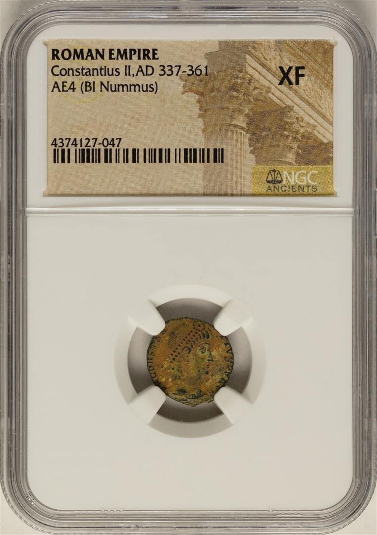 Constantius II, 337-361 AD Ancient Roman Empire Coin