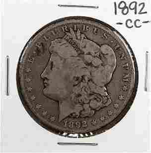 1892CC 1 Morgan Silver Dollar Coin