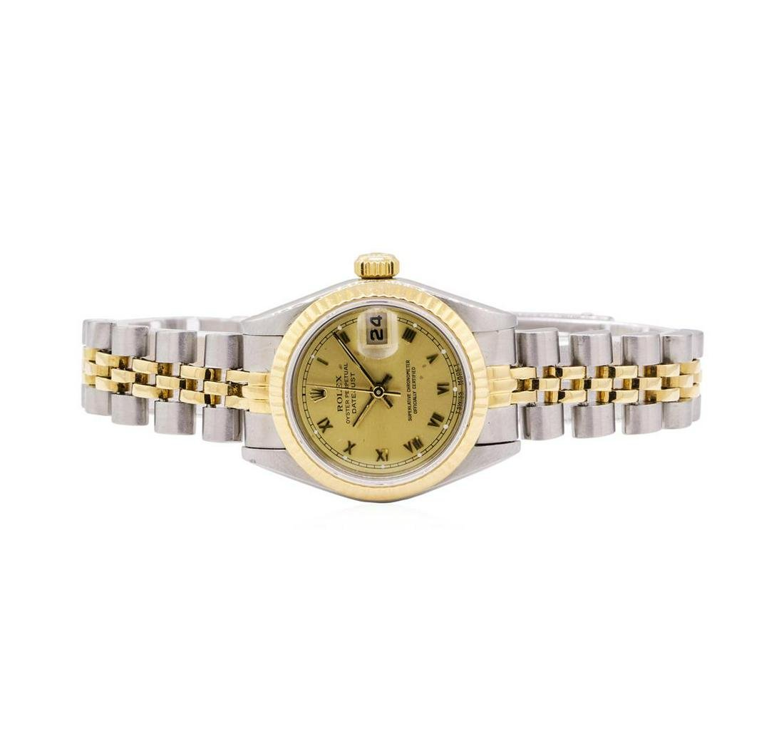 Rolex Ladies Oyster Perpetual Datejust Stainless Steel