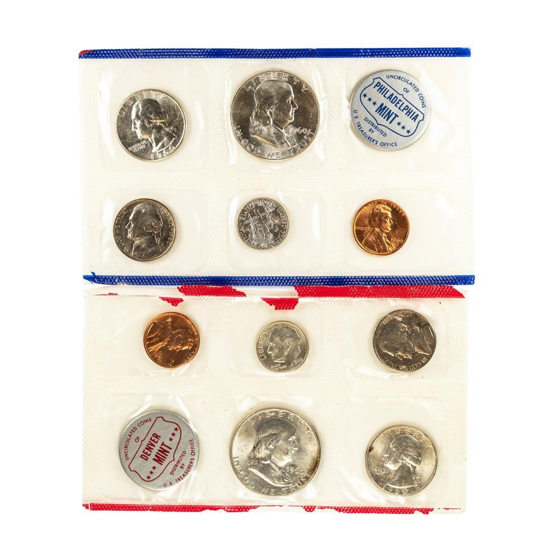 1960 P & D (5) Coin U.S. Mint Sets