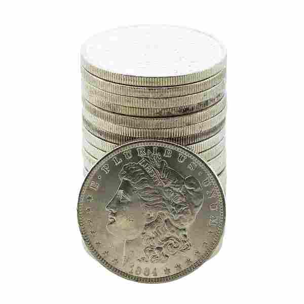 Roll of (20) Brilliant Uncirculated 1884-O $1 Morgan