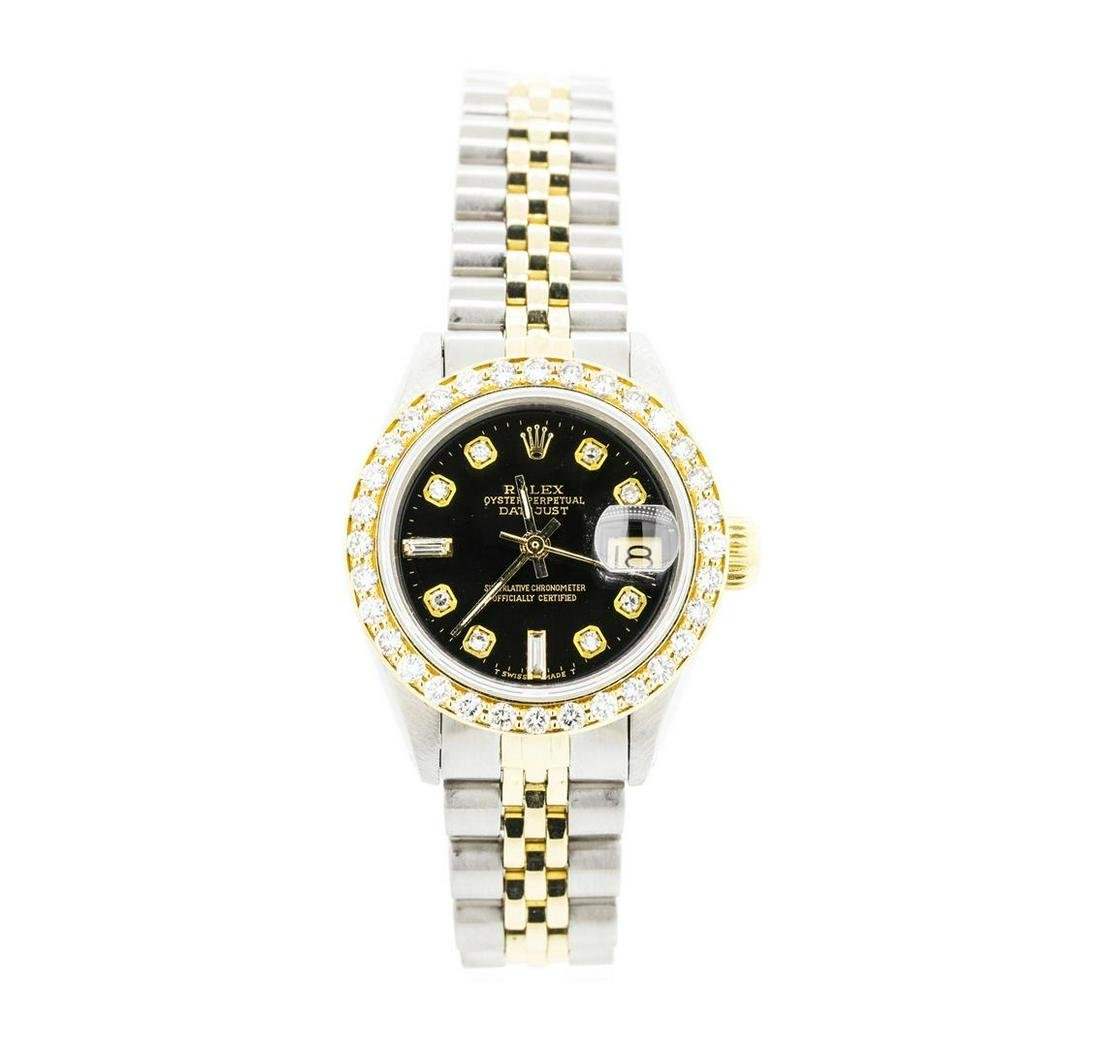 Ladies Rolex Two-Tone Oyster Perpetual Datejust