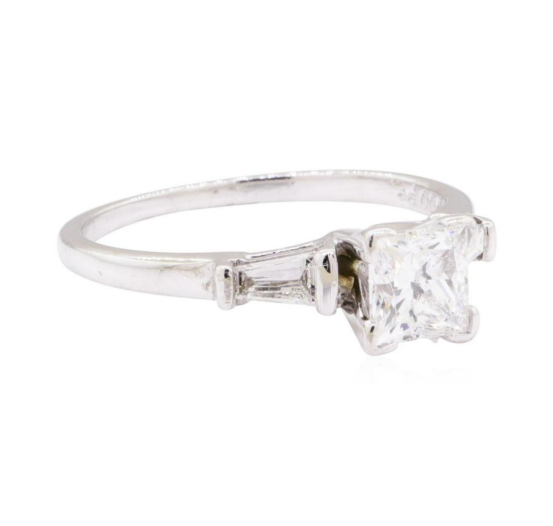 Platinum 1.05 ctw Diamond Ring