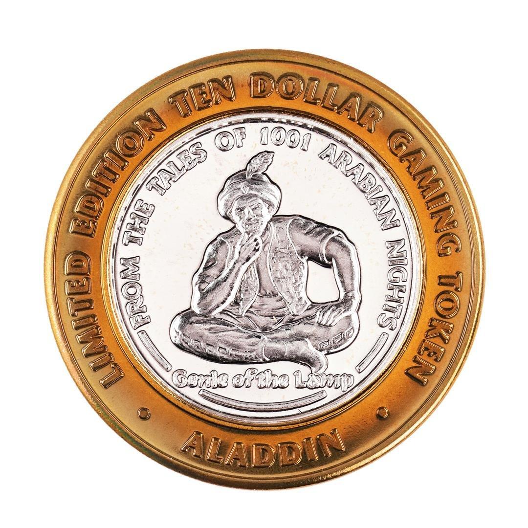.999 Fine Silver Aladdin Resort & Casino Las Vegas $10