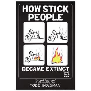 "Todd Goldman ""How Stick People Became Extinct"""