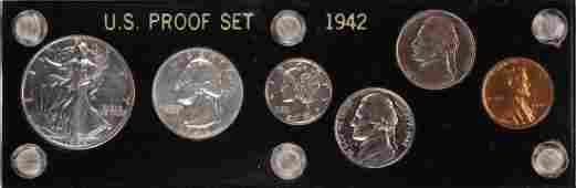 1942 6 Coin Proof Set