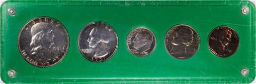 1951 5 Coin Proof Set