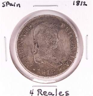 1812 Spain 4 Reales Silver Coin