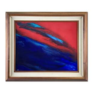 """Wyland """"Earth"""" Original Acrylic On Board"""