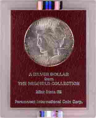 1926-S $1 Peace Silver Dollar Coin Redfield Hoard NGC